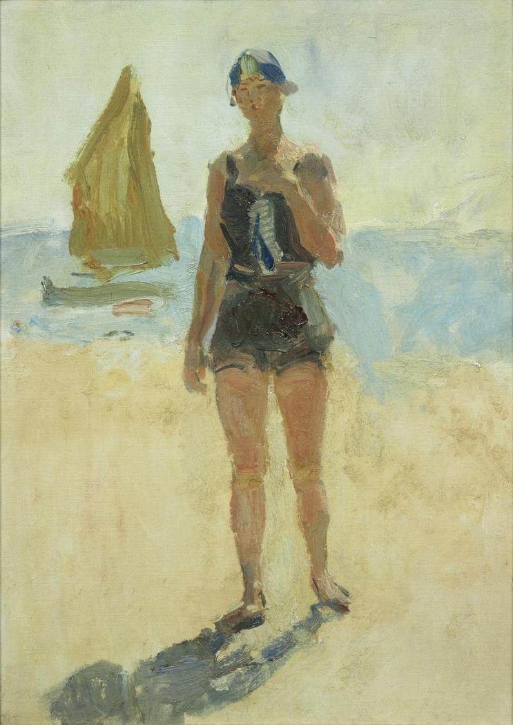 Girl at the Lido