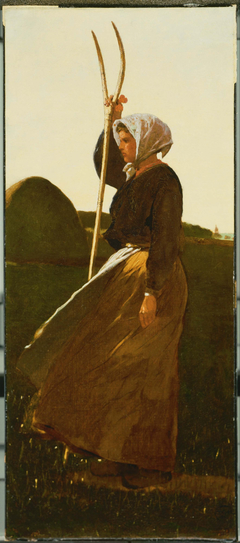 Girl with Pitchfork