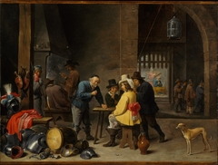 Guardroom with the Deliverance of Saint Peter