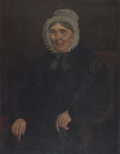 Half length portrait of woman