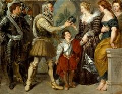 Henri IV Conferring the Regency upon Marie de' Medici