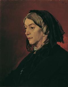 Henriette Feuerbach, die Stiefmutter des Künstlers
