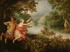 Herkules, Dejanira und der Kentaur Nessus