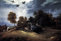 Heron Hunting with the Archduke Leopold William