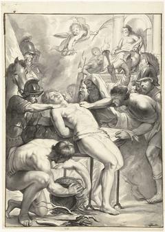 Het martelaarschap van de Heilige Laurentius