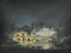 Illumination of the Belvedere Pavilion