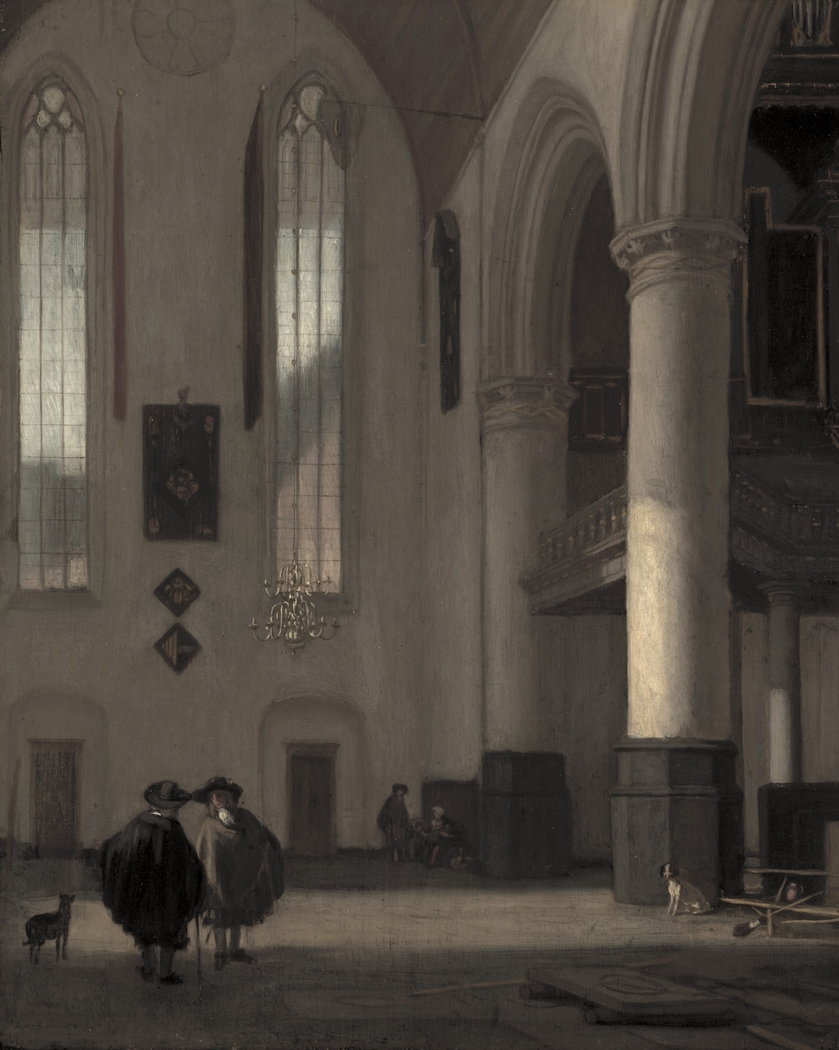 Interior of a Protestant Church