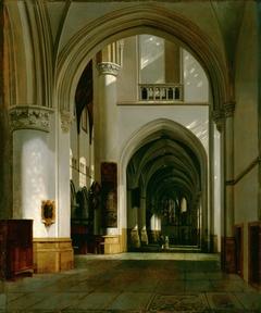 Interior of the Grote Kerk, Haarlem