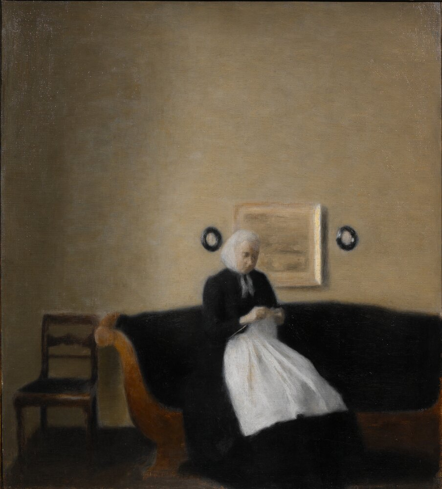 Interior with the Artist's Mother