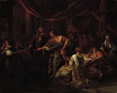 Jacob Confronting Laban