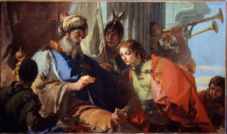 Joseph receiving Pharaoh's Ring