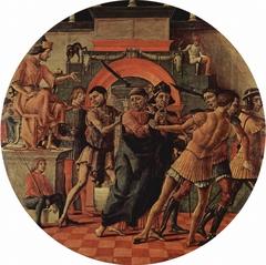 Judgement of Saint Maurelio