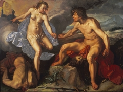 Juno Receiving the Eyes of Argus from Mercury