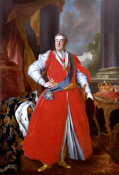 King August III in Polish costume by Louis de Silvestre