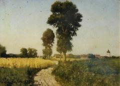 Landscape, Courrières, France