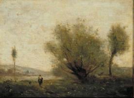 Landscape near Ville d'Avray