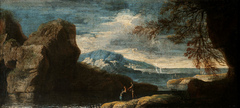 Landscape with a Rock
