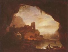 Landscape with Castle Ruins