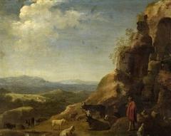 Landscape with herdsman and flocks