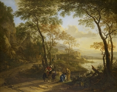 Landscape with St Philip Baptizing the Eunuch