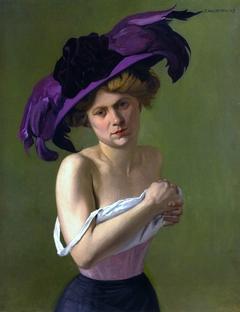Le chapeau violet