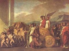 Le triomphe de Bonaparte ou la Paix