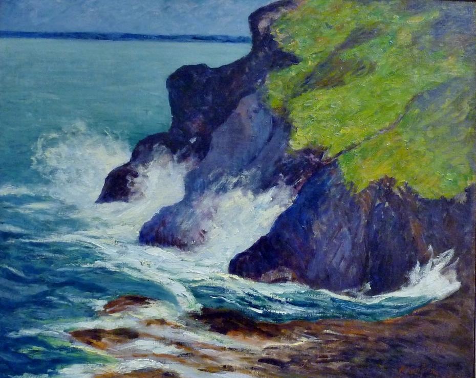 Les trois falaises. Saint-Jean-du-Doigt