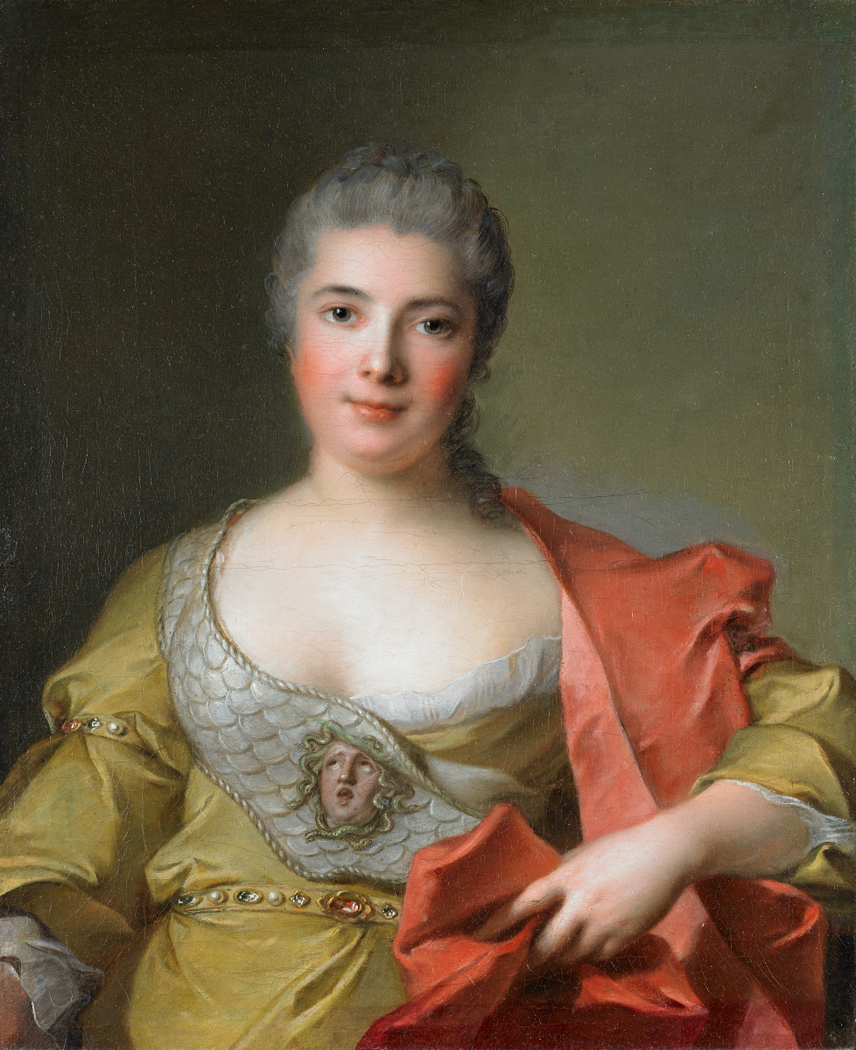 Madame de Frémicourt as Minerva