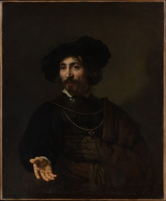 Man with a Steel Gorget