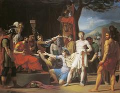 Manlius Torquatus sentences his son to death