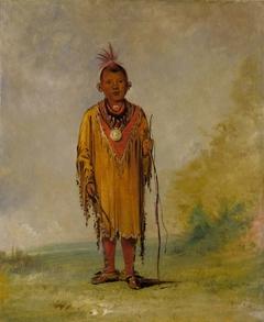 Me-sóu-wahk, Deer's Hair, Favorite Son of Kee-o-kúk