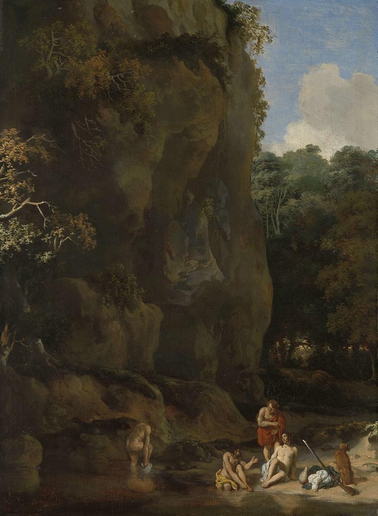 Men Bathing