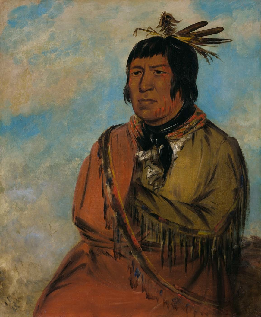 Na-pów-sa, Bear Traveling at Night, a Chief