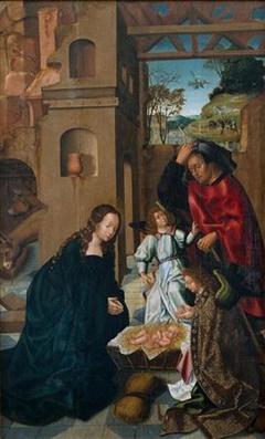 Nativity from the Polyptych of Capela-mor da Sé de Viseu