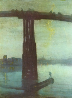 Nocturne: Blue and Gold – Old Battersea Bridge