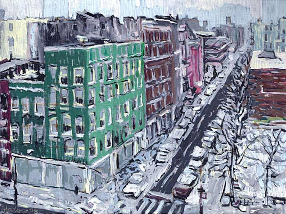Norfolk Street Winter View