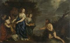 Odysseus and Nausicaa