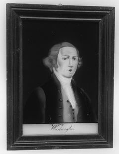 Plaque of George Washington