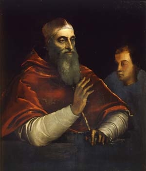 Pope Paul III with a Nephew