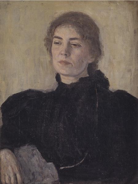 Portræt af fru Thora Bendix (Anne Victoria, f. Sundberg)