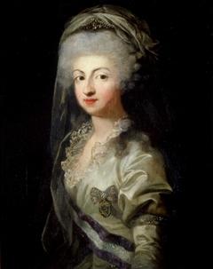 Portraint of Princess Maria Carolina of Bourbon with Diadem