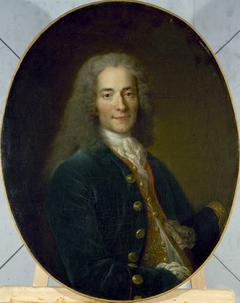 Portrait de Voltaire (1694-1778) en 1718