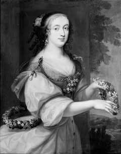 Portrait of a Lady Dressed as Flora