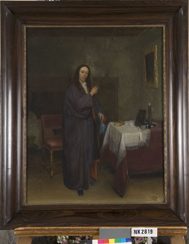 Portrait of a Man holding a Letter
