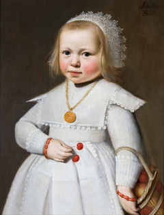 Portrait of a Two-Year Old Girl