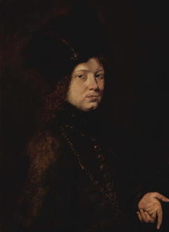 Portrait of a Young Man in a Fur Hat