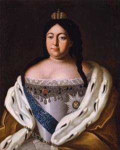 Portrait of Anna Ioannovna