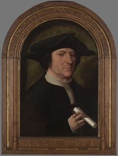 Portrait of Augustijn van Teylingen