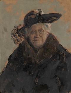 Portrait of Barbra Sommerfelt
