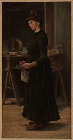 Portrait of Fraulein Kyburz